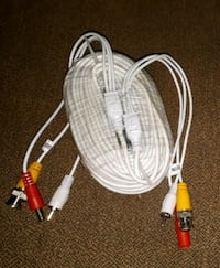 60ft Bnc, video/audio cable for CCTV security camera  Toronto, M6N 4K3