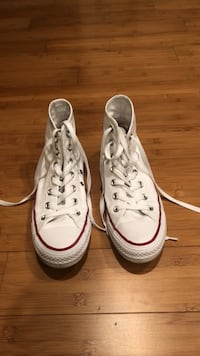 White High Top Converse Chucks Size 7 Women's Shoes Sneakers Oakton, 22124