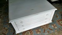 white wooden 3-drawer dresser Bradenton, 34205