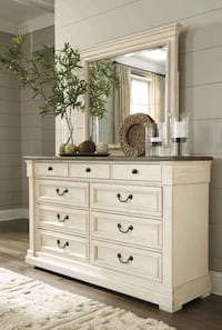 Bolanburg Antique White Dresser | B647  VENDORASHL Houston