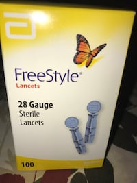 Attn Diabetics  Lancets with Safety Stickers on Box  Inwood, 25428
