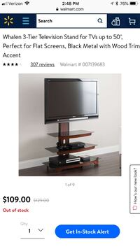 """3 tier TV Stand Hold up to 50"""" TV Simi Valley, 93063"""