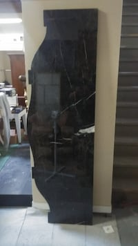 """Really heavy marble top 77"""" long great condition Brampton"""