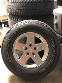 5- 17 inch Jeep wheels Uniontown
