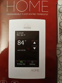 Programmable thermostat Coquitlam, V3B 7J1