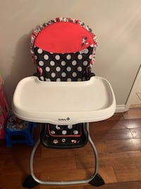 High Chair Disney Micky Mouse high end only used a dozen of times North Vancouver, V7J 3M2