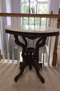 Antique Marble Top Table New Freedom, 17349