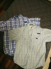 white and blue plaid button-up shirt Mobile, 36693