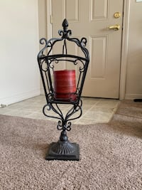 Heavy candle stand