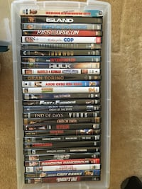 DVDs $4 each or 2 for $6  Sterling, 20164