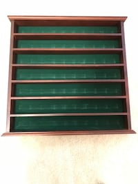 Golfball collection display rack holds 42 balls. Sterling, 20166