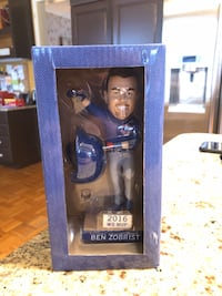 Chicago Cubs' Ben Zobrist Bobblehead. Unopened box. Linthicum Heights, 21090