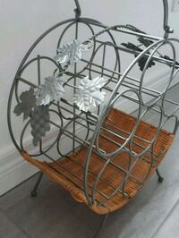 Wine caddy with handle - wine rack  Woodstock