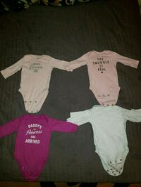 Baby girls clothes 3 months hats and long sleeves  Los Angeles, 90011