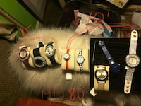 NEW Watches with New Batteries *ALL 75$