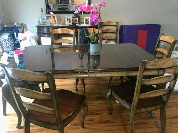 8 Seat Dining Ing Room Table Set