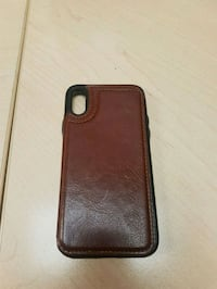 Iphone x leather wallet case Vaughan, L4K 5K9