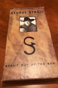 "George Strait ""Strait Out Of The Box"" Swedesboro, 08085"