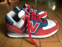 New Balance size 8 women's red white blue