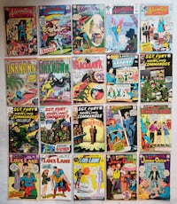 18 silver age comics Mount Airy