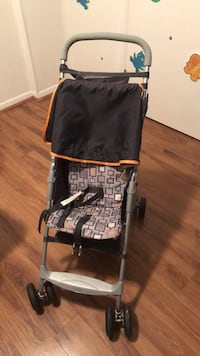 black and gray lightweight stroller Springfield, 22150