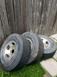 4 Used tires and rims off F150