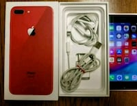 Red iPhone 8 plus shipping though FedEx i provide  Texas