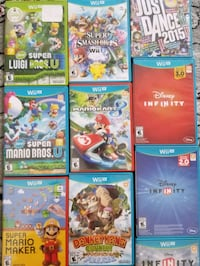 Nintendo Wii U games for sale individually  Vaughan, L4L