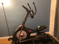 Black and gray elliptical trainer, pick-up only. Alexandria, 22310