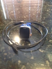 silver-colored smart watch with blue band West Jordan, 84088