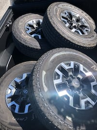 Toyota new tires and wheels San Jose, 95111