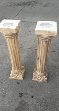 Beautiful decorative table columns made in Mexico OPEN TO OFFERS! Derwood