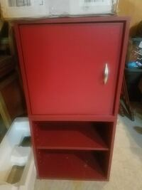 red wooden wardrobe Frederick, 21701