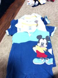 JUST REDUCED  MORE  (2) mickey mouse short outfit 6 - 12 m Rockville