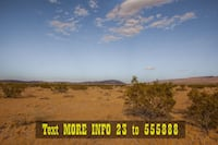 2.5 Acres for Sale. Owner Financing Available! Joshua Tree
