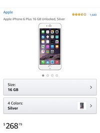 iPhone 6plus - 16gb 43 km