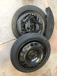 2008 ASTRA BRAND NEW NEVER USED SPARE TIRE SET WITH JACK AND SUPPORT Thorold, L2H