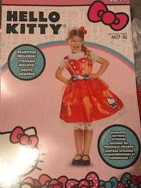Hello Kitty Red girls costume Whitchurch-Stouffville, L4A 1J9