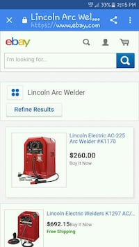 red and black portable generator screenshot Des Moines, 50317