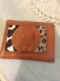 Leather Horse Wallet Fort Erie