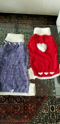 Red Heart, Lavender Rose Sweater for dogs Toronto, M2J 1L6
