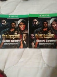 two Xbox One Deadrising cases Houma, 70364