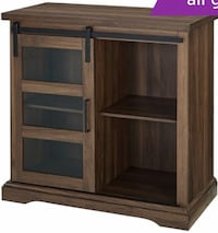 Dark Walnut industrial cabinet St. Louis Park, 55416