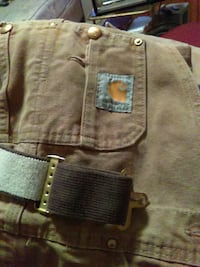 Carhart cover all's heat cond. Asking 40$