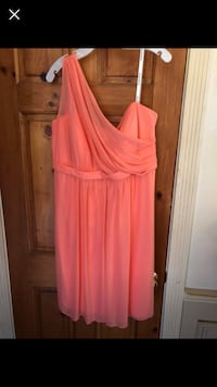 Women's coral bridesmaid dress West Valley City, 84120