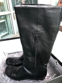 NEW Miss Sixty Black Leather Boots size 5 35 Toronto, M2N 7K6