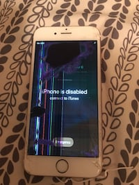 Cracked iPhone 6s for T-Mobile need gone today Albuquerque, 87102