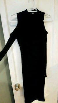 women's black long-sleeved dress Washington, 20016