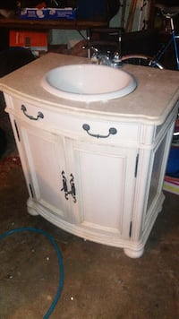 white and brown wooden cabinet BALTIMORE