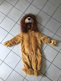 12 months lion costume, very warm  Newmarket, L3X 1H8